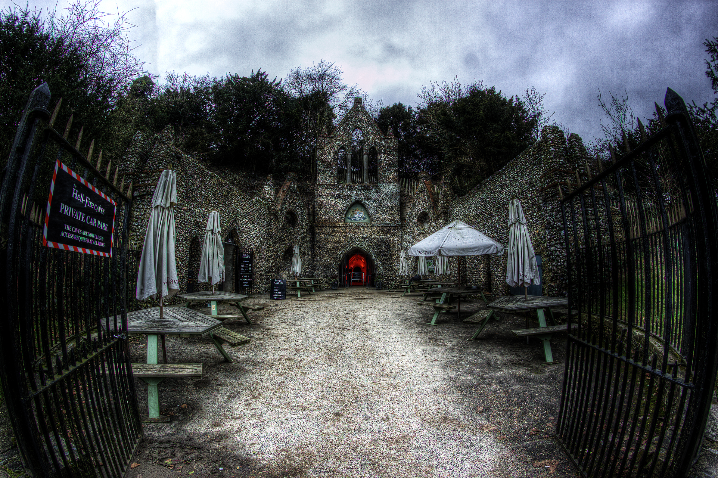 Hell Fire Caves with Haunting Nights